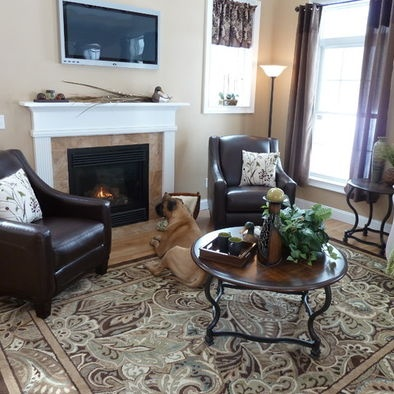 Paisley Park Area Rug From Lowes Country Living Room