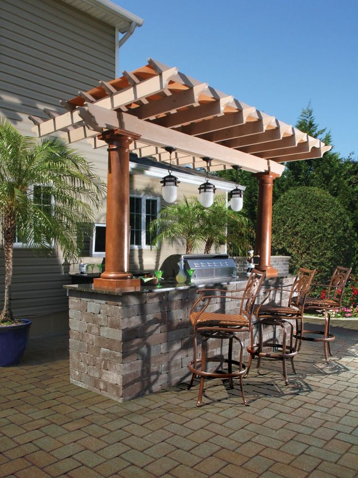 682 best images about outdoor bars kitchens on pinterest on outdoor kitchen yard id=14431