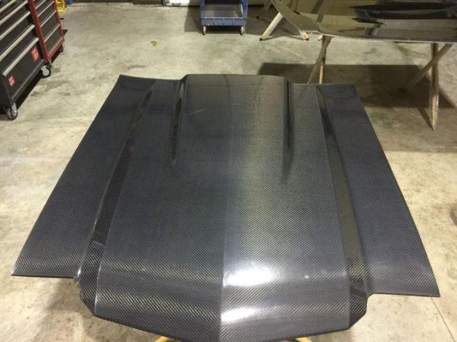 Chevelle parts ultracarbon carbon fiber hood fender