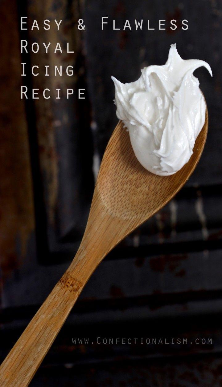 Easy Amp Flawless Royal Icing Recipe Meringue Cookies
