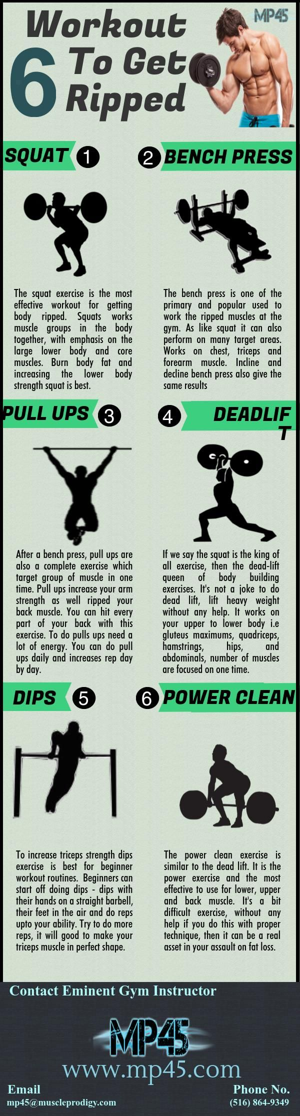 Ultimate Workout Routine To Get Ripped