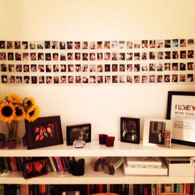 Instax Mini Polaroid Wall Room Ideas Pinterest