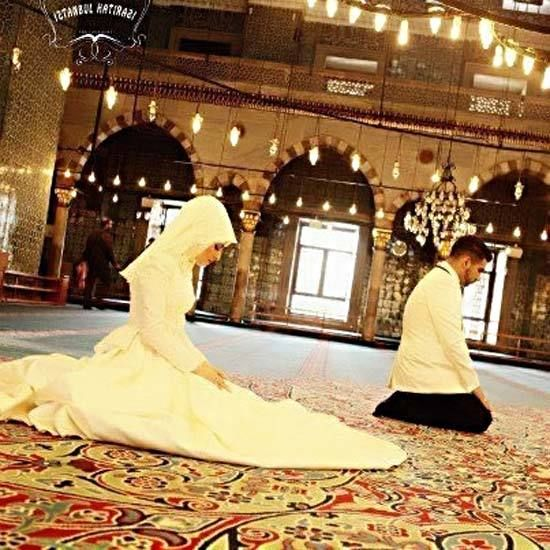Islamic Dress Cute Pictures Couples
