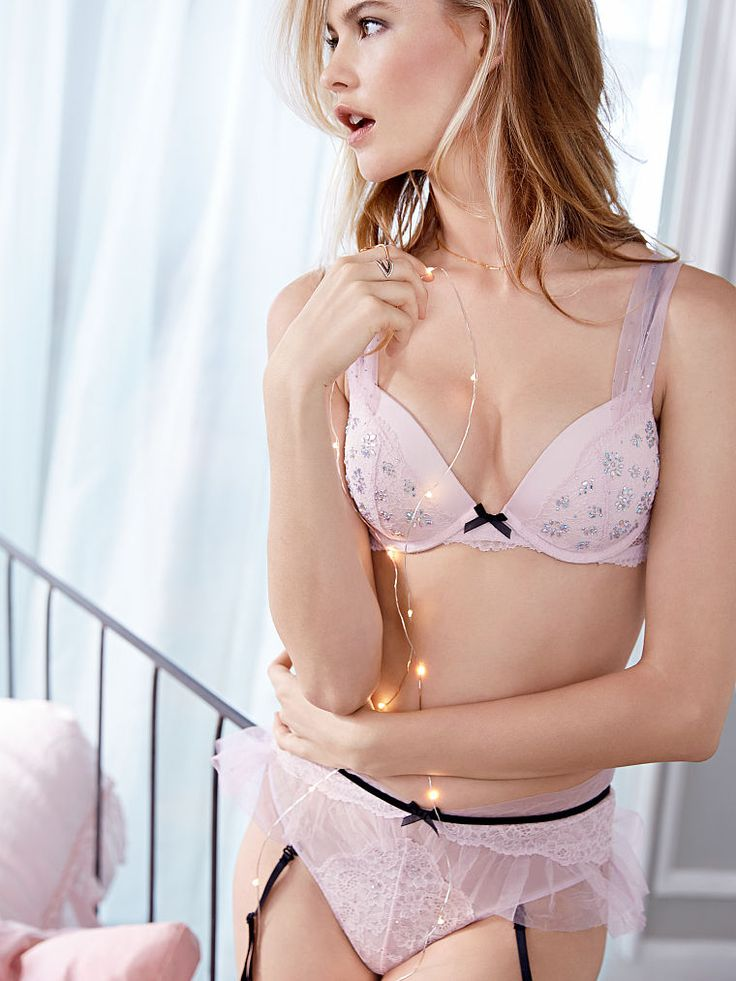 Lace Amp Tulle Push Up Bra Dream Angels Victorias