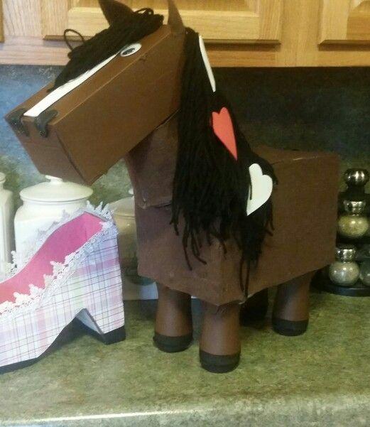 Horse Valentine Box Crafts I Made Pinterest