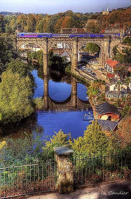 Knaresborough, North Yorkshire, England: