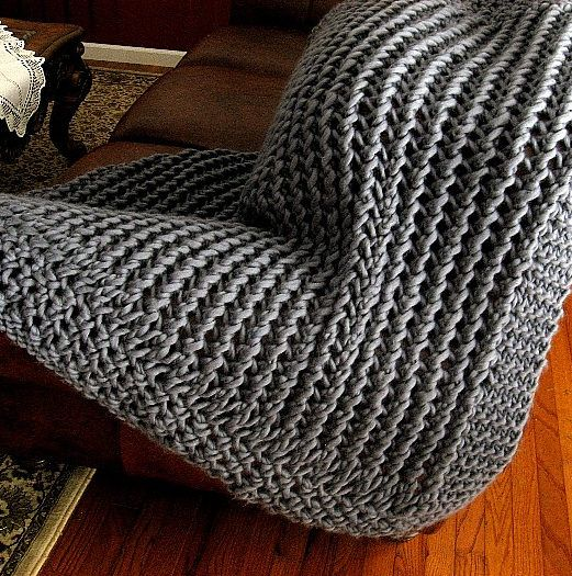 Lacy Loom Knit Afghan Pattern