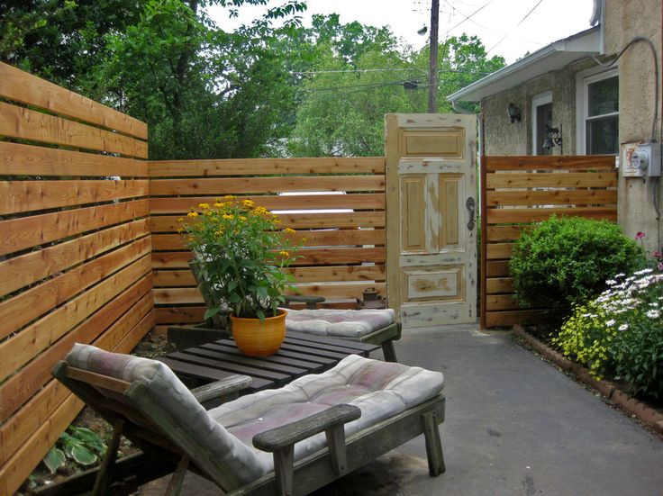 Cool Privacy Fence Ideas Diy for Patio Eclectic design ... on Backyard Wooden Fence Decorating Ideas id=38309