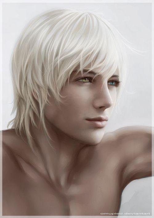Guy With Mismatched Eyes Anime Pinterest Inspiration