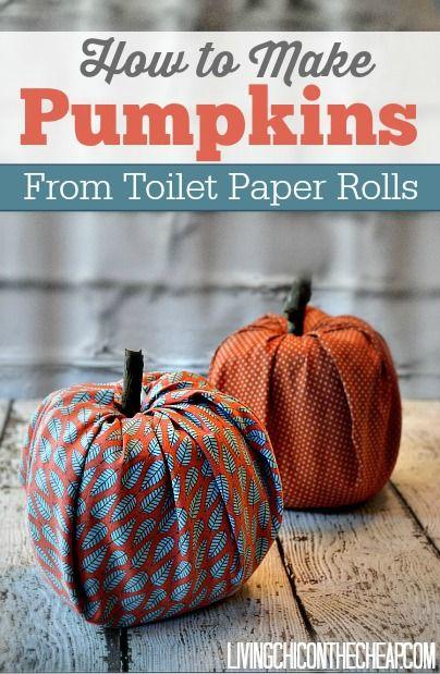 30 DIY Pumpkin Ideas 2