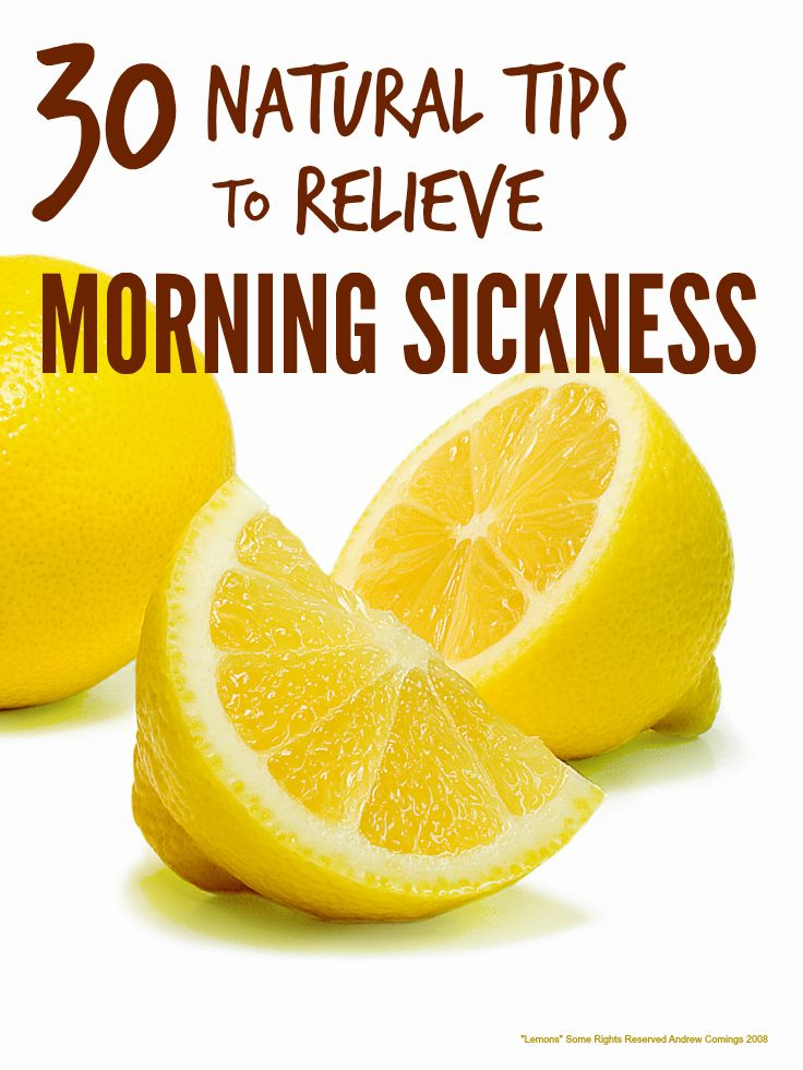 Morning sickness can make the early months of pregnancy truly miserable but luckily there are loads of natural remedies for morning sickness that help