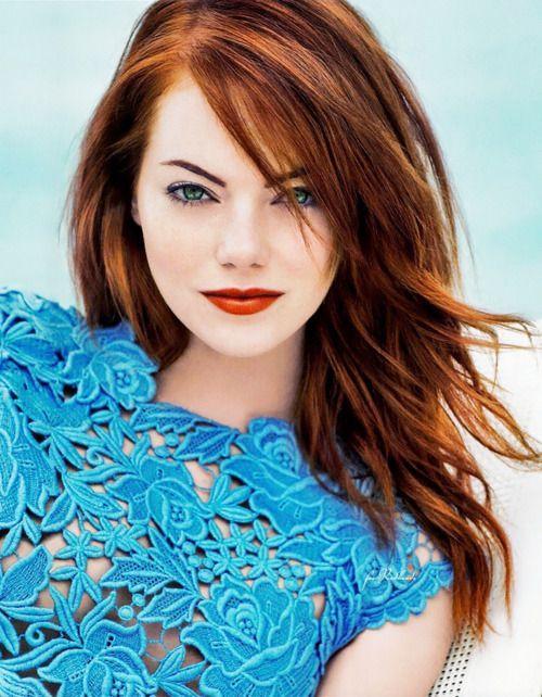 Auburn Hair Fair Skin Another Blue Eyed Girl With