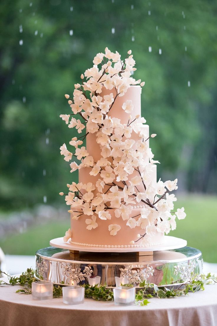 25 Best Ideas About Cherry Blossom Cake On Pinterest