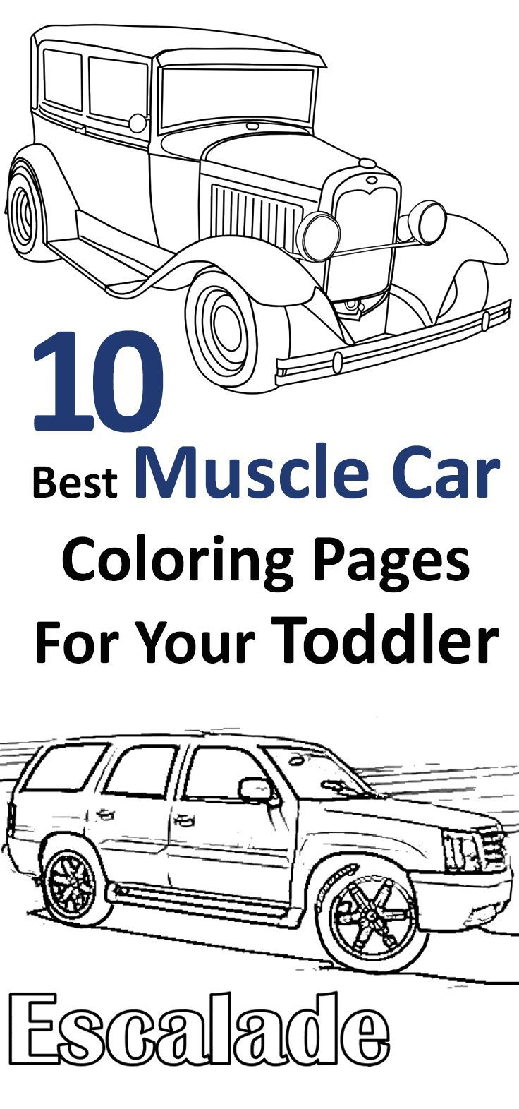 top  free printable muscle car coloring pages online