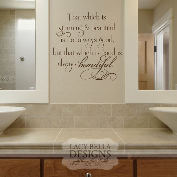 60 best images about bathroom decals on pinterest on wall decals id=98051