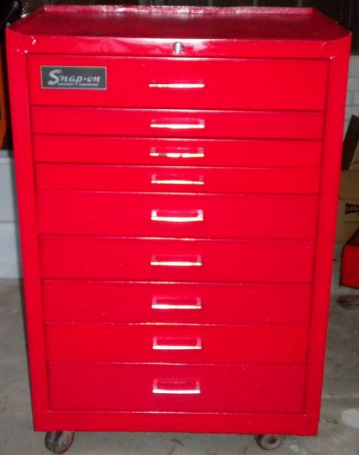 Refurbished Snap On Cabinet Vintage Amp Unusual Tool Boxes