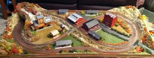 2x4 Small N Scale Model Train Layout Joes Stuff