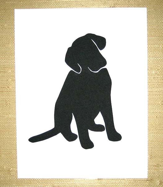 Girls Best Friend Silhouette Art Art Ideas Pinterest