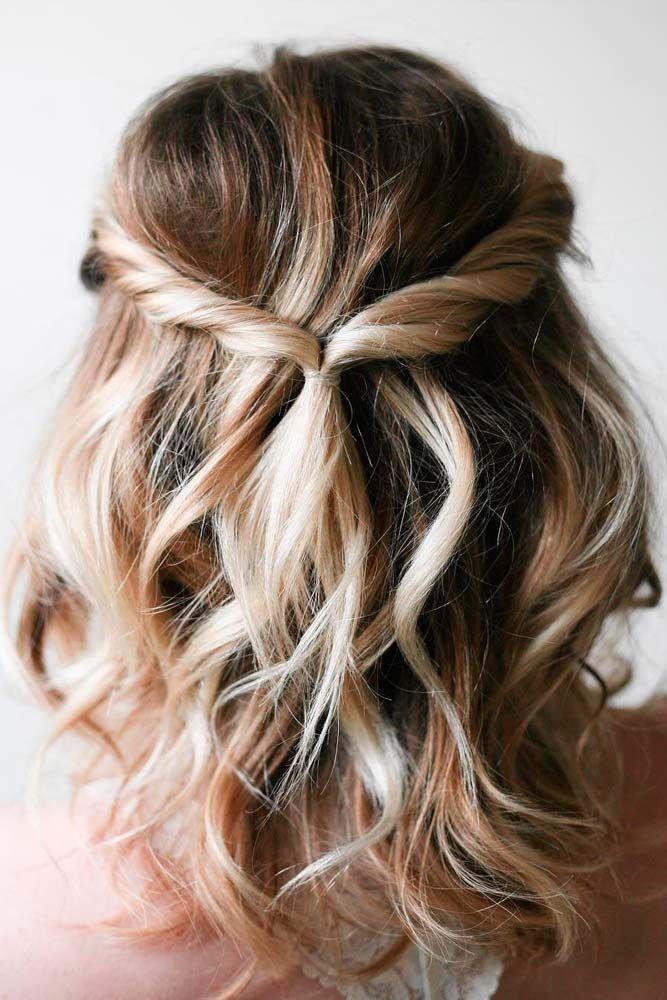 25 best ideas about Short Hair Up on Pinterest