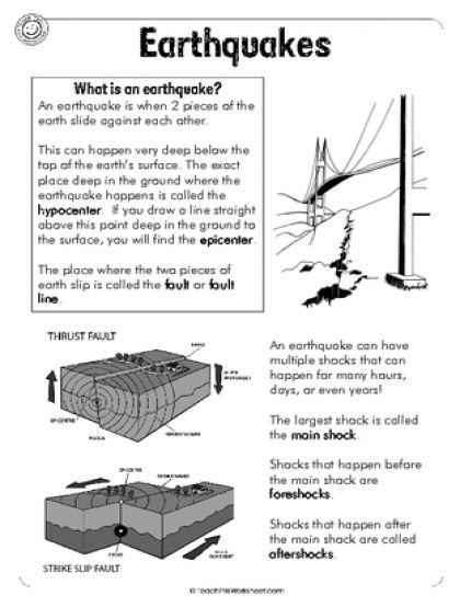 Earthquakes 6pg