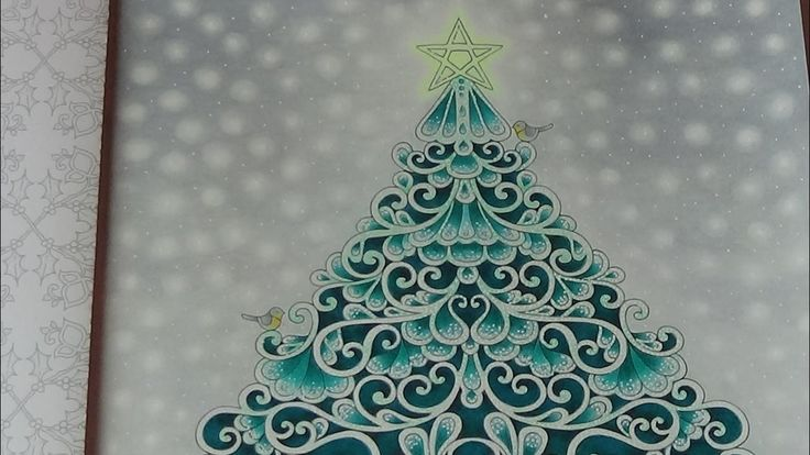 17 Best Images About Johannas Christmas Colouring On