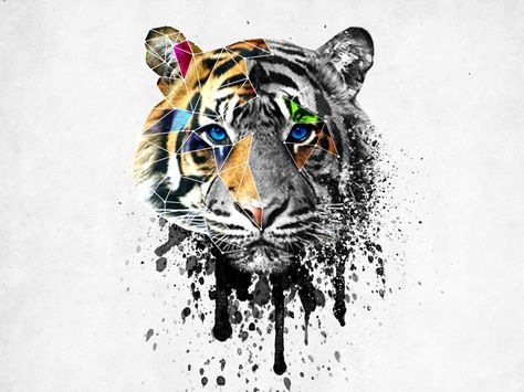 1000+ ideas about Tiger Head Tattoo on Pinterest | Head ...
