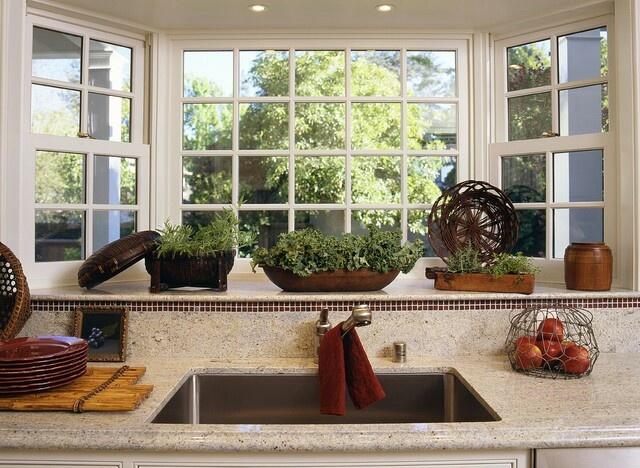 title | Kitchen Bay Window Decoration Ideas