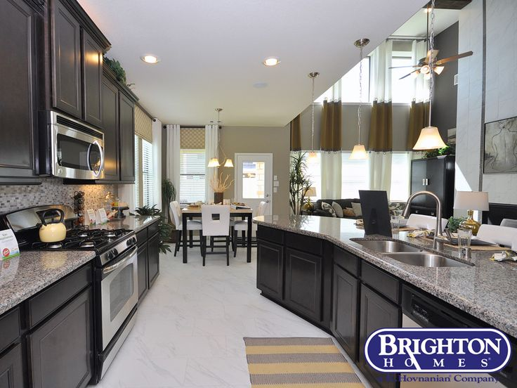 Kitchen In Our Easton Model