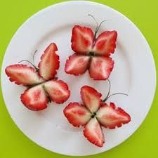 strawberry butterfly