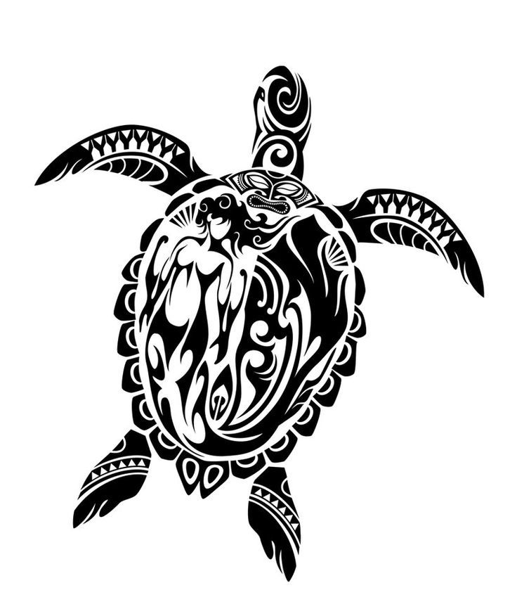 Yin Yang Turtle Tattoo Designs