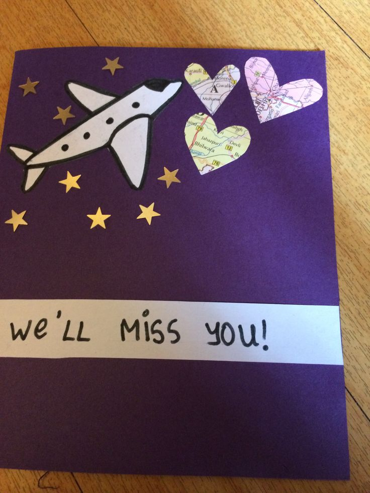 15 Best Images About Farewell Cards On Pinterest Step