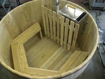 17 Images About DIY Hottub Anyone On Pinterest Rocket Stoves Diy Wood And Stock Tank
