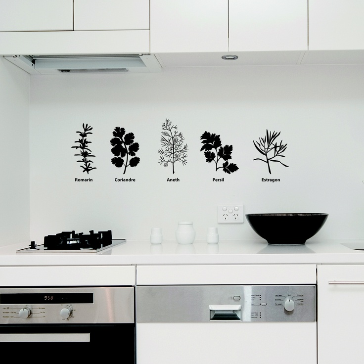 12 best images about wall stickers kitchen on pinterest on wall stickers for kitchen id=30560
