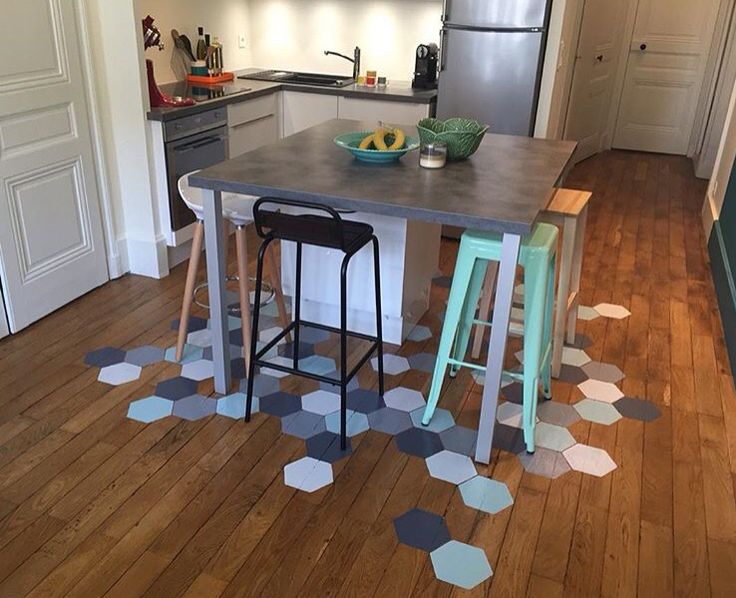 Tomette Sur Parquet DECO Those Little Objects And Ideas