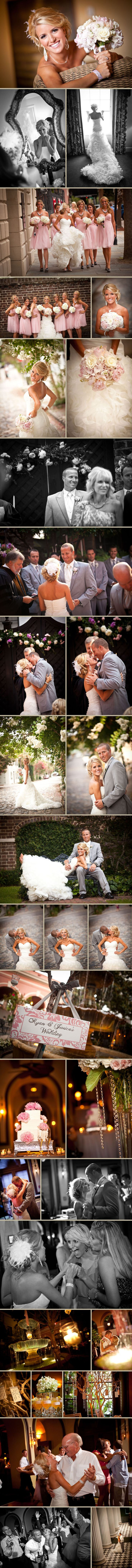 Wedding picture ideas. Also, I love the photography and the wedding colors! Kasey is thinking pink, so this would definitely be