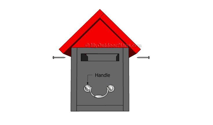 25 Best Ideas About Wooden Mailbox On Pinterest Modern Mailbox Mailbox Locator And Us Mailbox
