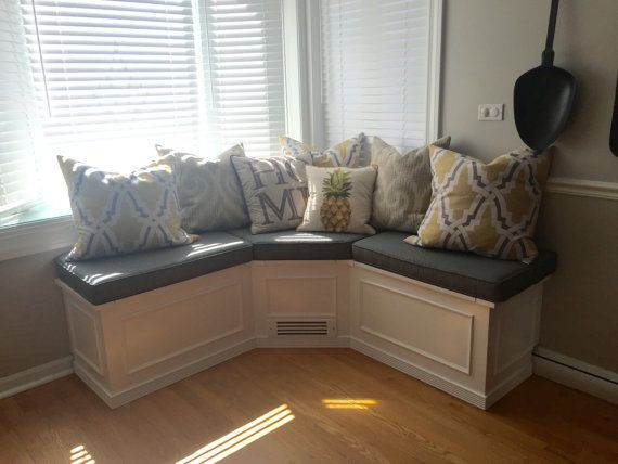 25+ Best Ideas About Corner Bench On Pinterest