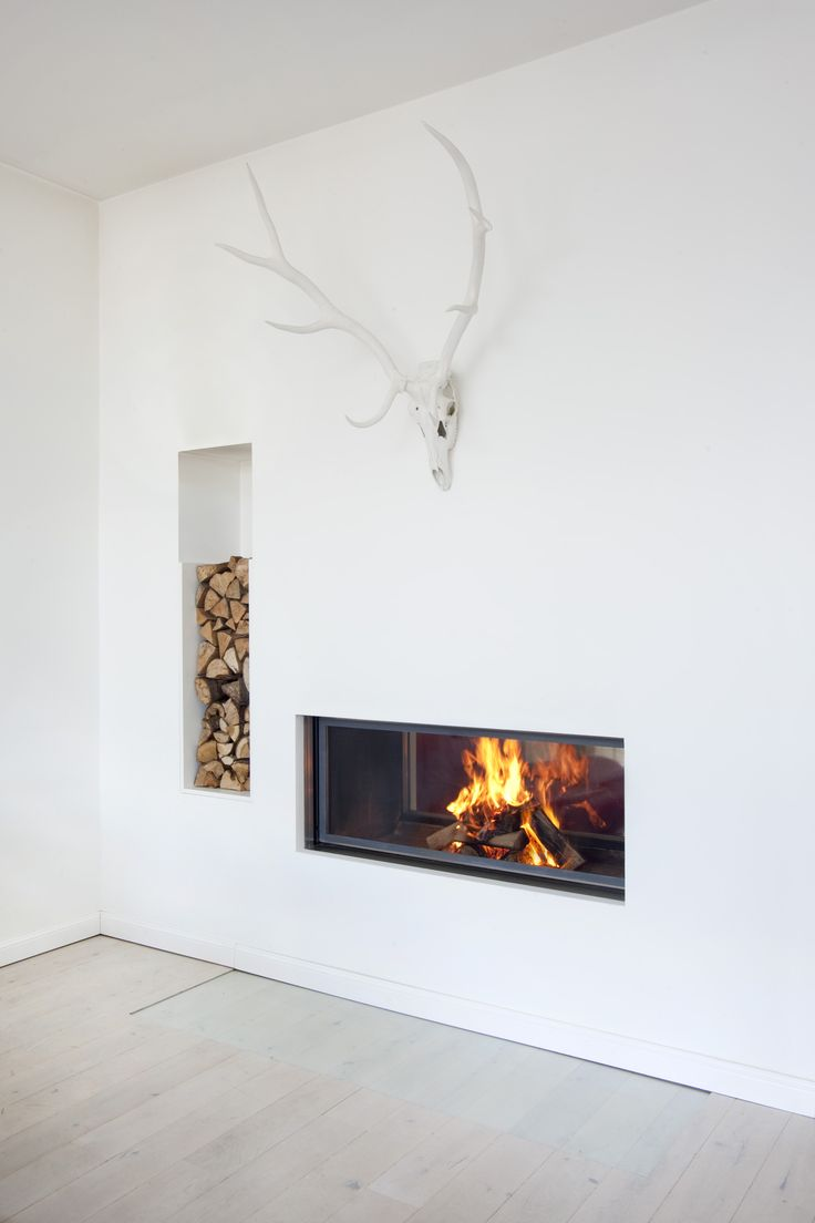 2 Sided Ventless Gas Fireplace