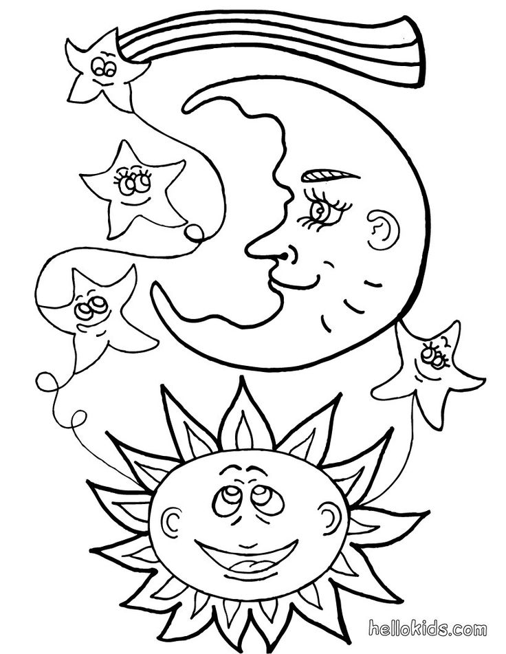 88 best images about solar system sun moon & stars color