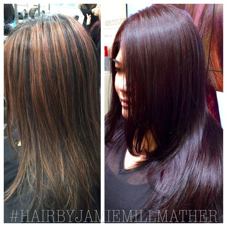Eggplant Hair Color Ideas Coloringsite