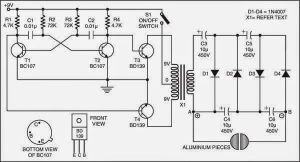 Simple Electric Shock Gun Circuit Diagram Check more at http:blogblackboxsrucategory
