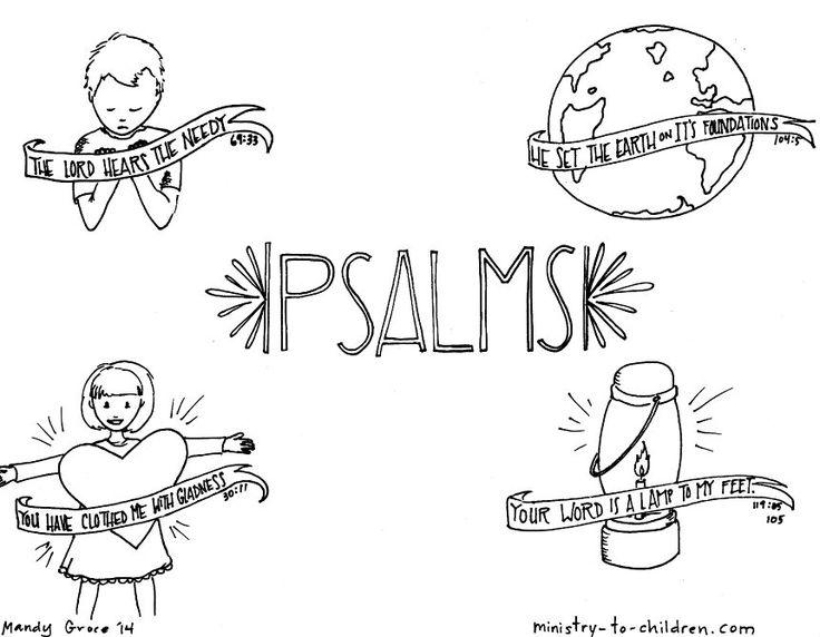 Bible Coloring Sheets Printable Psalm 139 1
