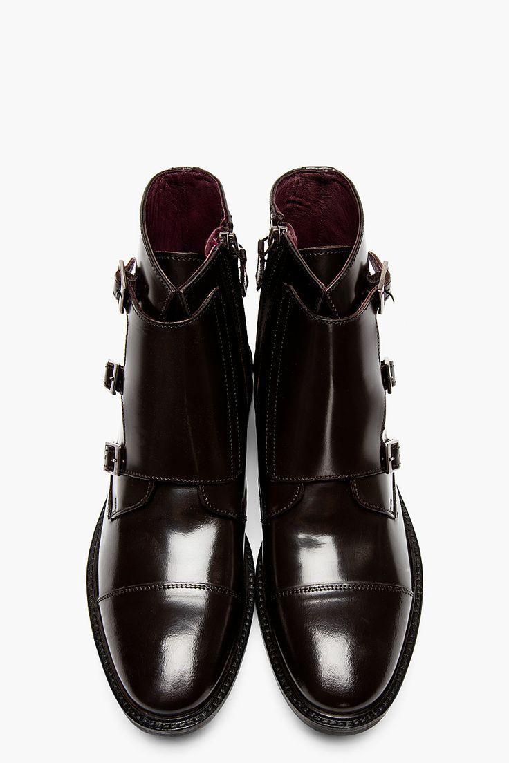 Black Leather Studded Wallet Tiger Of Sweden Boots For