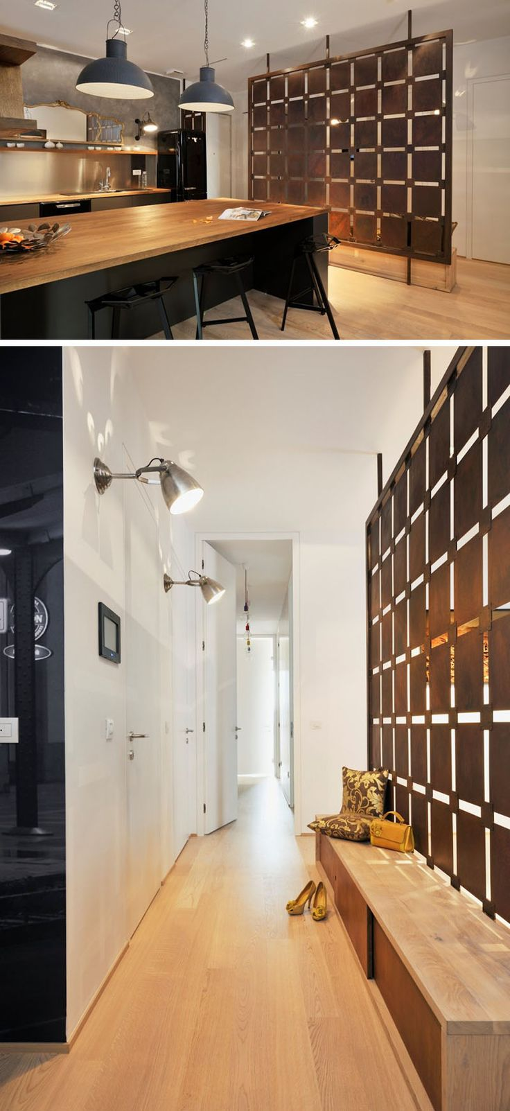 17 Best Partition Ideas On Pinterest Dividing Wall Room