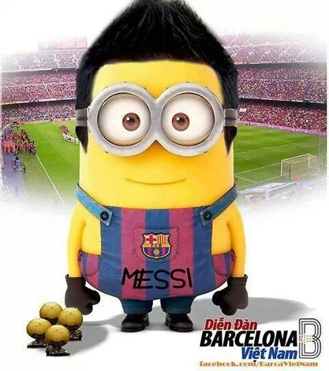 Messi Minion Footballers Pinterest Messi And Minions