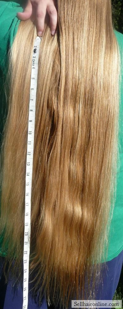 Nice Very Long Thick Golden Blonde Virgin Hair For Sale