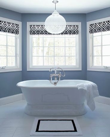 50 best images about window treatments on pinterest on best paint colors for bathroom with no windows id=59630