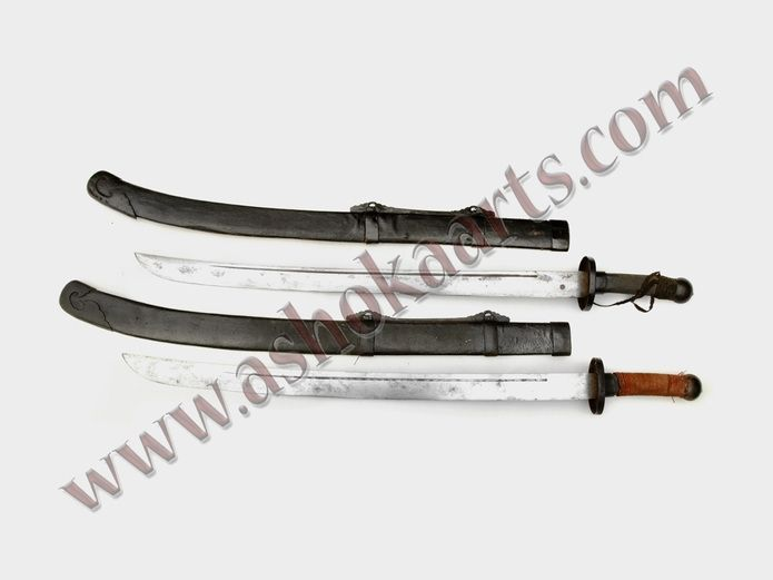 Chinese Twin Dao Swords