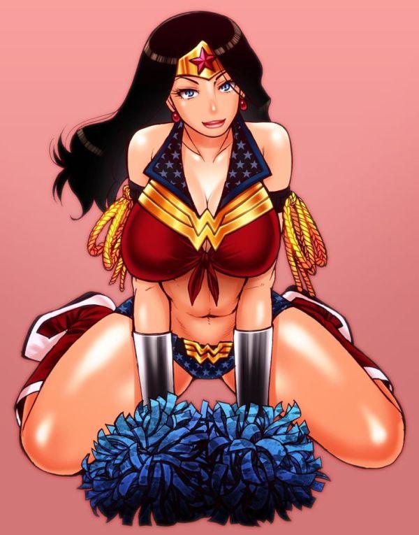 Cheerleader Wonder Woman by cva1046.deviantart.com on ...