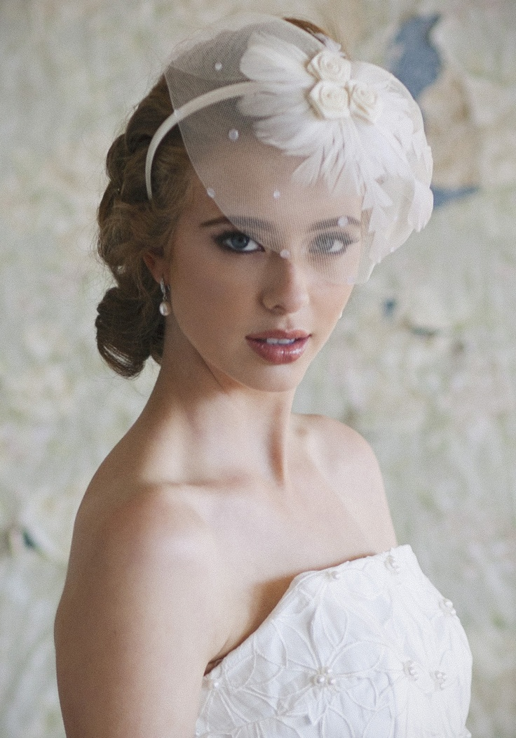 116 Best Images About Wedding Accessories Veils Hair